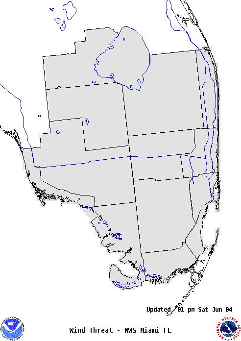 Wind Threat Map