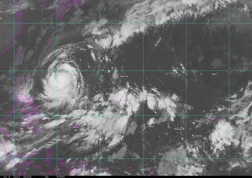 Guam infrared image