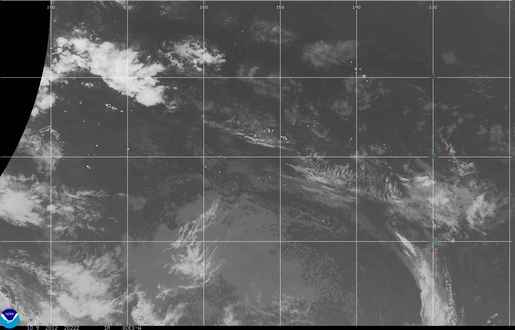 American Samoa infrared image